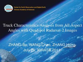 Truck Characteristics Analysis from All Aspect Angles with Quad-pol Radarsat-2 Images