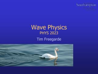 Wave Physics