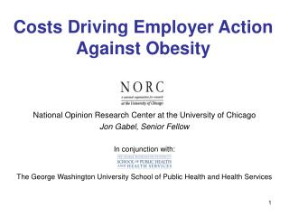 Costs Driving Employer Action Against Obesity