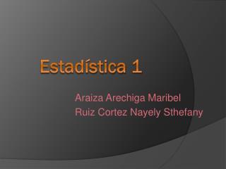 Estadística 1