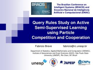 Query Rules Study on Active Semi-Supervised Learning using Particle Competition and Cooperation