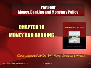 Part Four Money, Banking and Monetary Policy