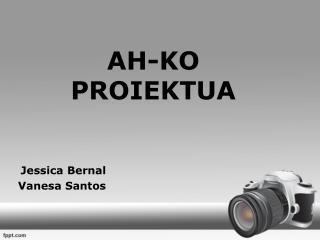 AH-KO PROIEKTUA
