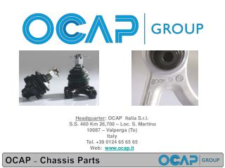 OCAP  – Chassis  Parts