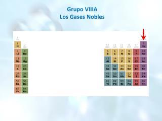Grupo VIIIA Los Gases Nobles