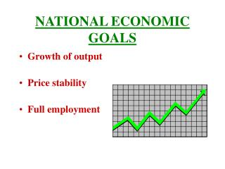 NATIONAL ECONOMIC GOALS