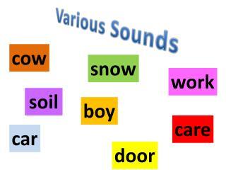 Various Sounds