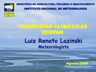 TENDÊNCIAS CLIMÁTICAS OCEPAR