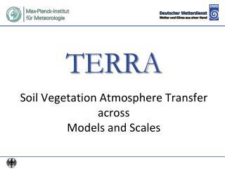TERRA Soil Vegetation Atmosphere Transfer across Models and Scales