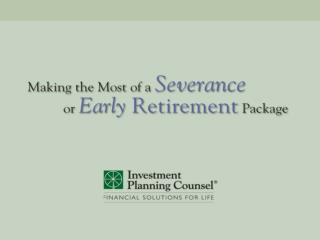 Severance Packages