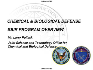 CHEMICAL & BIOLOGICAL DEFENSE