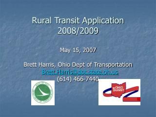 Rural Transit Application 2008/2009
