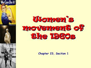 Women's movement of the 1960s