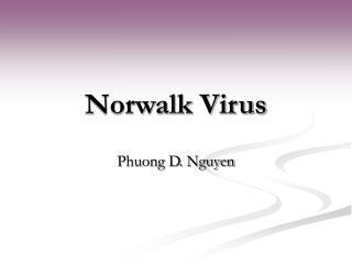 Norwalk Virus