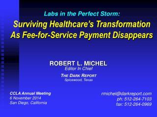 CCLA Annual Meeting 6 November 2014 San Diego, California