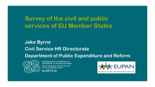 Survey of the civil and public services of EU Member States
