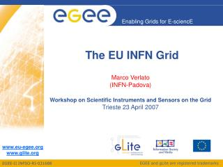 The EU INFN Grid