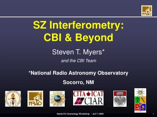 SZ Interferometry:  CBI & Beyond