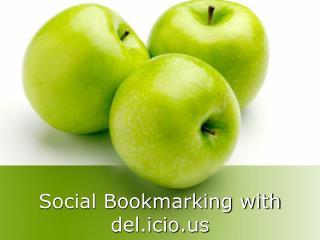 Social Bookmarking with del.icio
