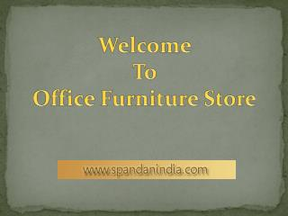 Builders' office Furniture Designers in India