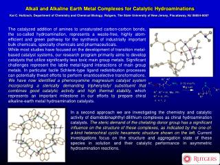 Alkali and Alkaline Earth Metal Complexes for Catalytic Hydroaminations