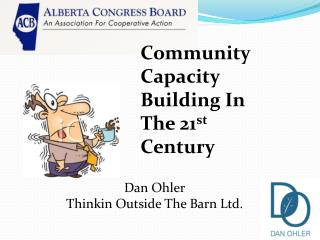 Community  Capacity Building In The 21 st  Century