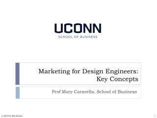 Marketing for Design Engineers: Key Concepts