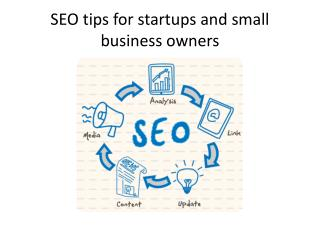 SEO  tips for startups and small business owners