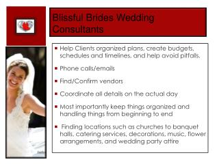 Blissful Brides Wedding Consultants