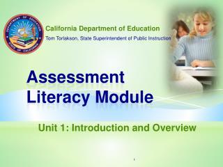 Assessment Literacy Module