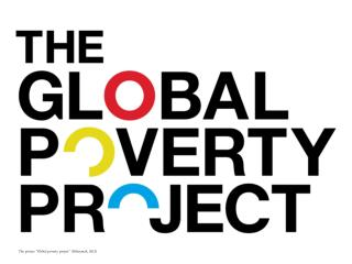 "The picture ""Global poverty project"" (Hilarymak, 2013)"