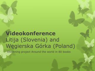 Videokonference Litija ( Slovenia ) and Węgierska Górka(Poland)