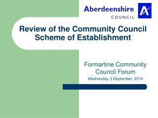 Review of the Community Council Scheme of Establishment