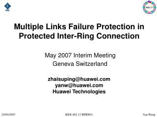 Interconnected node failure