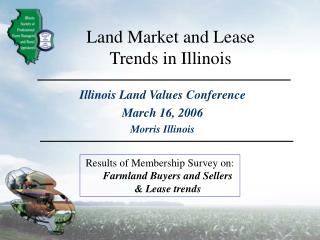 Land Market and Lease Trends in Illinois