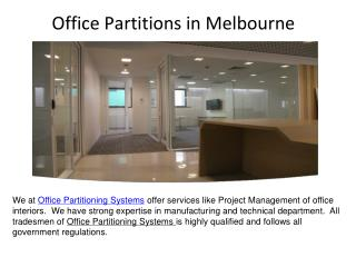 Office Partitions in Melbourne,Ergonomic Seating