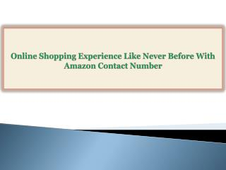 Online Shopping Experience Like Never Before With Amazon Con
