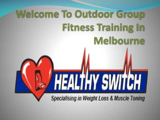 Outdoor Group Fitness Training In Melbourne