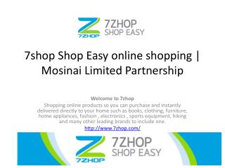 7shop Shop Easy online shopping