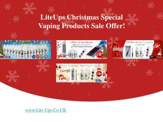 The Biggest Vaping Products' Sale Offer In UK