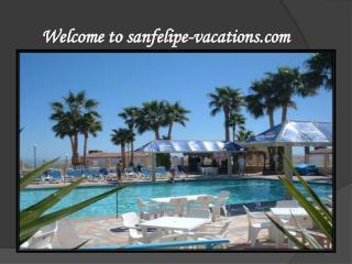 San Felipe Vacation Rentals Service