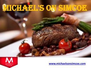 Michael's on Simcoe : The ultimate Steakhouse in Toronto‏