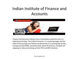 accounting and finance courses in pune