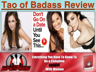 The Tao of Badass Review: How Well Does It Work