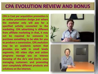 cpa evolution reviews