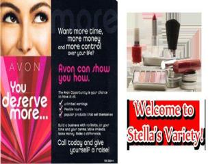 Avon Makeup, Beauty and Hair Products, Perfume and Avon Repr