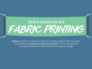 Fabric Printing Options for Business