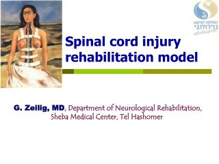Spinal cord injury rehabilitation model