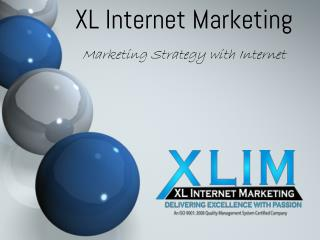 Marketing Strategy with Internet