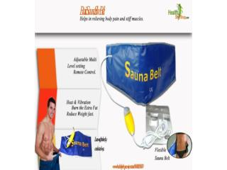 Lose Weight With Sauna Slim Belt